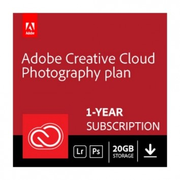 Adobe Creative Cloud Photography Plan With 20GB