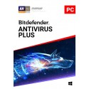 BITDEFENDER ANTIVIRUS 2019 3 User, 1 Year