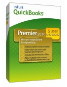 Quickbooks Premier 2016 Software (5 Users) Permanent License