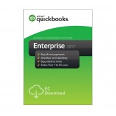 Quickbooks Enterprise 2017 Software 10 User (License+DVD)