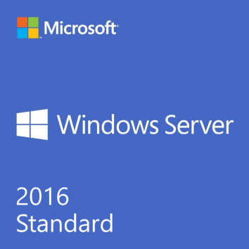 Windows Server 2016 Standard 64bit English 1 Pack DVD 16 Core