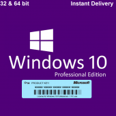 GENUINE WINDOWS 10 PROFESSIONAL ACTIVATION KEY