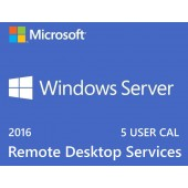 Windows Server 2016 RDS 5 USER Cals License