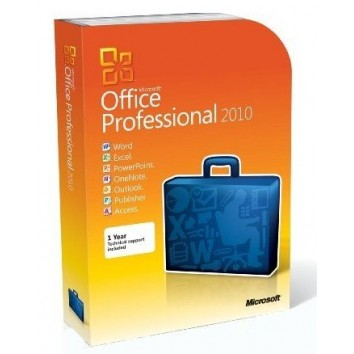 Microsoft Office Professional 2010-1PC/1User